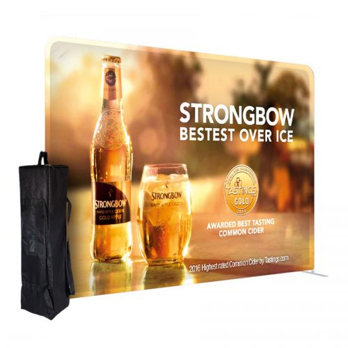 Formulate Straight Fabric Displays