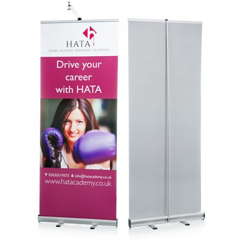 Grasshopper Roller Banner Stand Single Sided