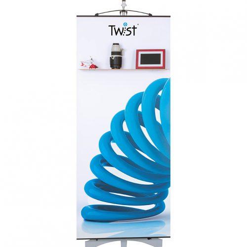 Twist Banner Shelf