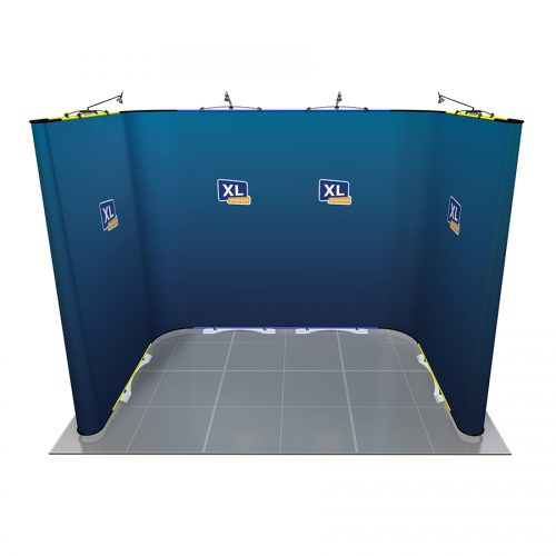 Twist Flexible Exhibition Stand 3m x 2m U-Shaped