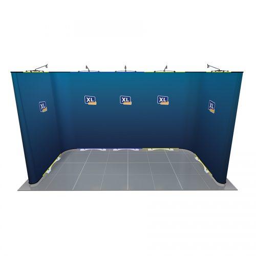 Twist U-Shaped Exhibition Stand 4m x 2m