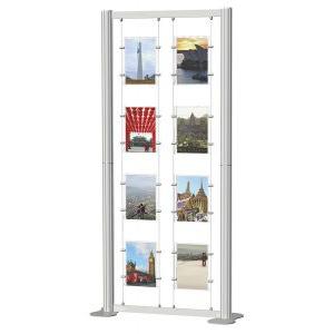 Centro Freestanding Poster Display Kit 2