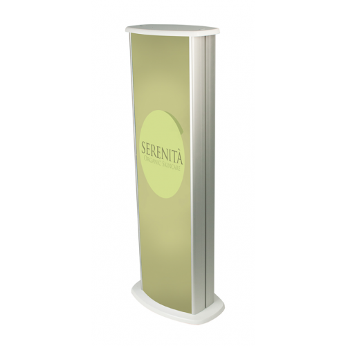 Slim Light Box Display Podium