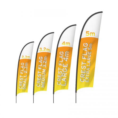 Crest Flag Banner Full Range