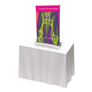 Compact Retractable Desktop Banner