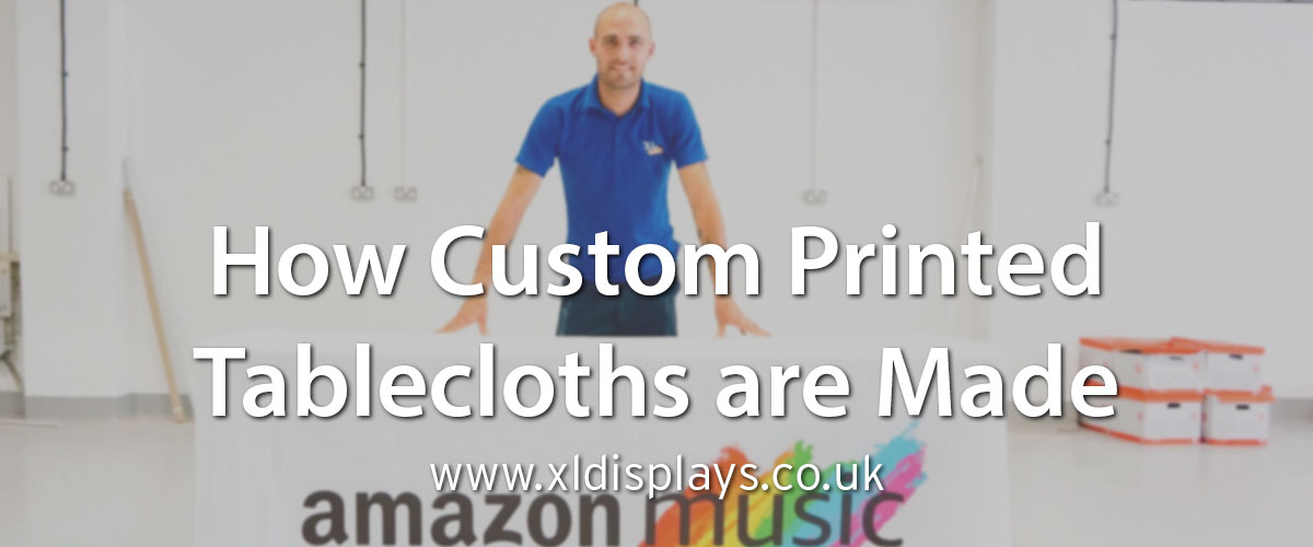 How Custom Printed Tablecloths are Made