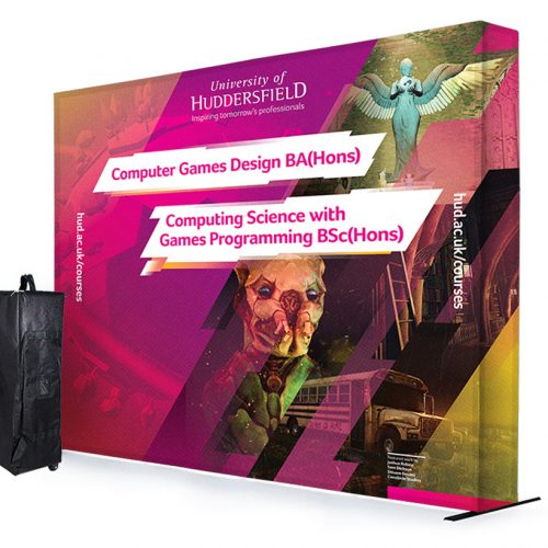 SEG 3x4 Fabric Exhibition Stand