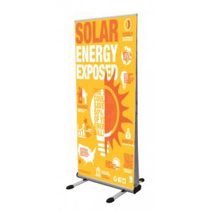 Thunder Double Sided Outdoor Banner Stand
