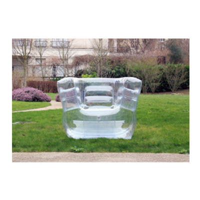 Crystal Clear Inflatable Chair