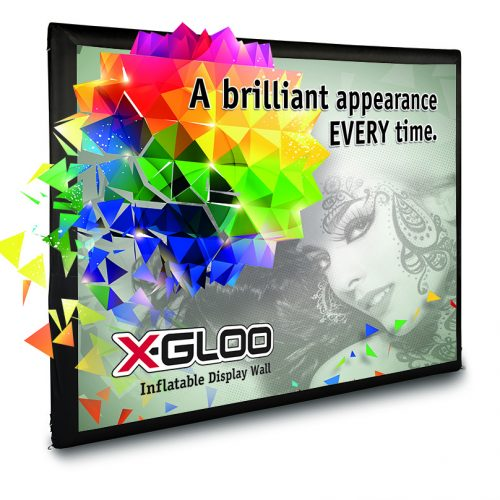 X-Gloo Inflatable Display Wall Outdoor