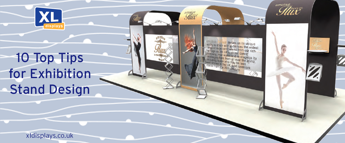 10 Top Tips for Exhibition Stand Design