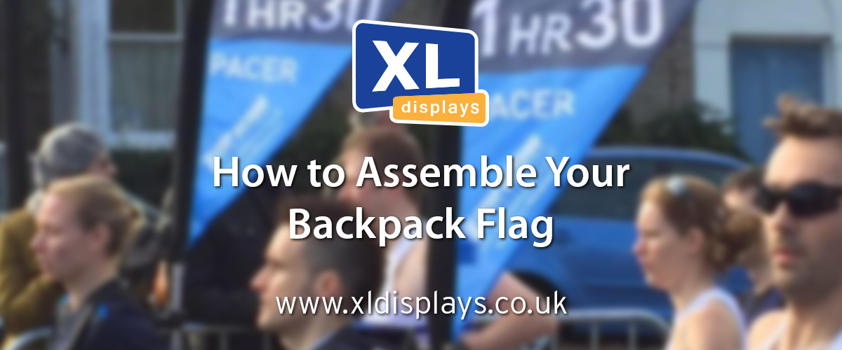 How to Assemble Your Backpack Flag