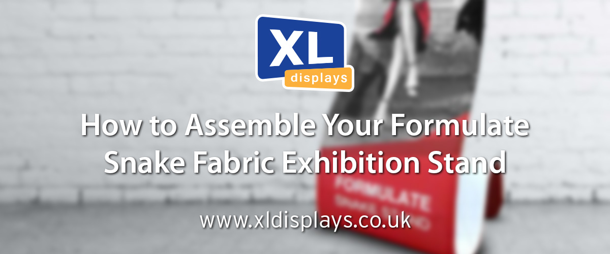 How to Assemble Your Formulate Snake Fabric Exhibition Stand