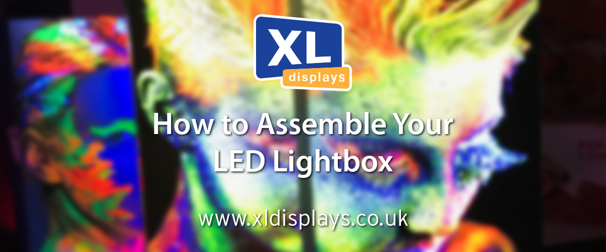 How to Assemble Your LED Lightbox