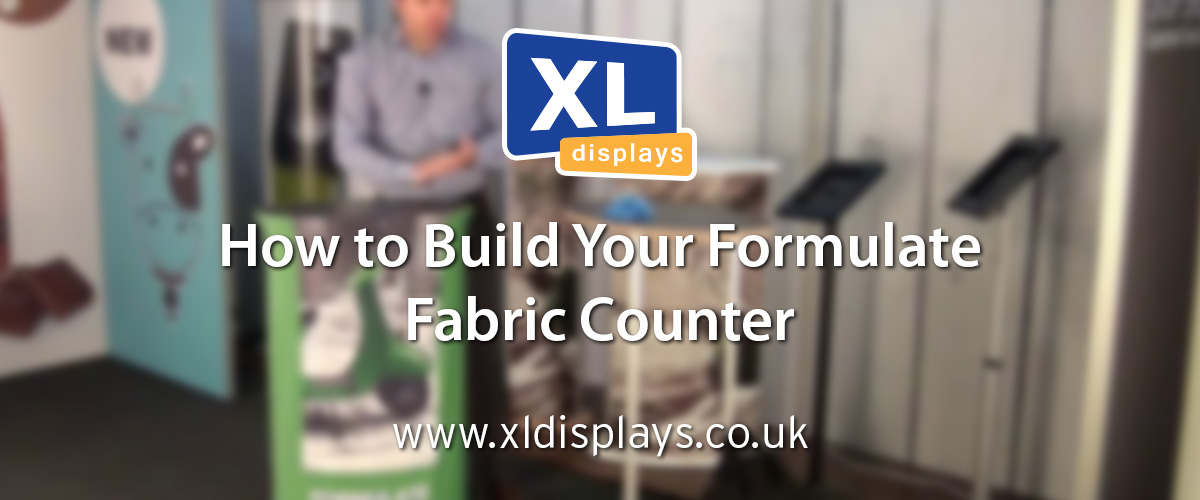 How to Assemble Your Formulate Oval Fabric Counter