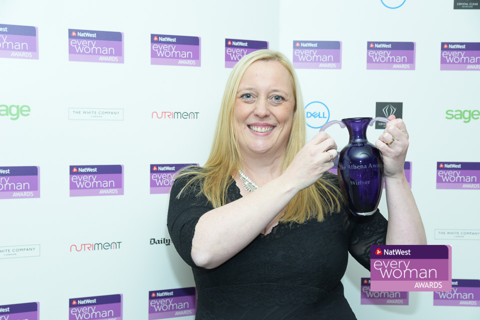 Our Director, Joanne Bass, Wins National Entrepreneur Award