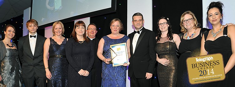 XL Displays Wins Peterborough Business Award