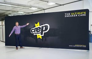 Crep Protect 6m Fomrulate Straight Fabric Exhibition Stand