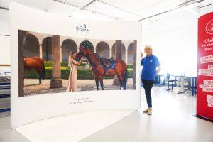 Hammett Equestrian Formulate Curve Fabric Exhibition Stand