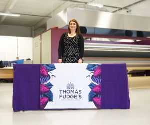 Thomas Fudge's Printed Table Runner