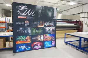 Wales Interactive 2400mm Formulate Straight Fabric Display