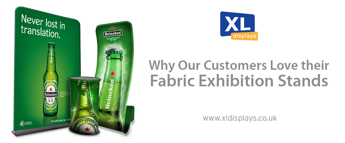 Why Our Customers Love Their Fabric Exhibition Stands