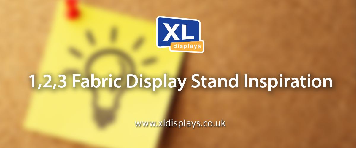 1,2,3 Fabric Display Stand Inspiration