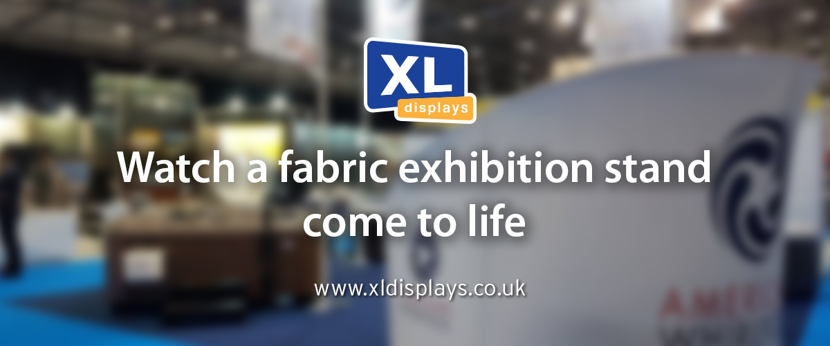 Watch a Fabric Exhibition Stand Come to Life